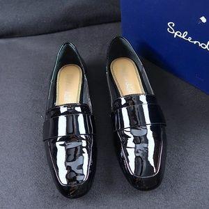 Splendid Delta Black Patent Leather Loafers, 8